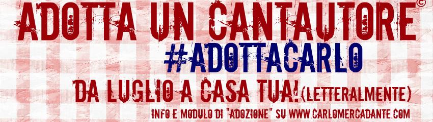 #AdottaCarlo Tour – (Comunicato Stampa)