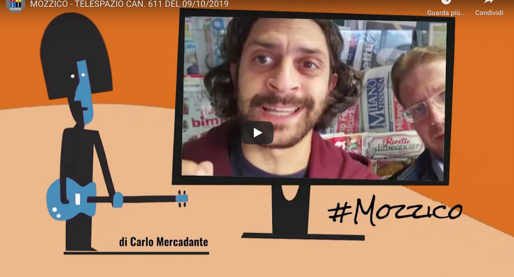 #Mozzico, la nuova rubrica di Carlo Mercadante su Telespazio