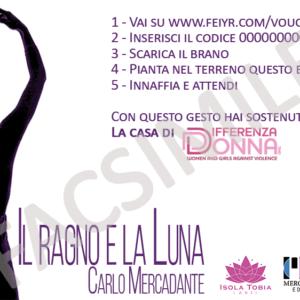 """Carlo Mercadante – """"Il Ragno e la Luna"""" CARD PIANTABILE"""